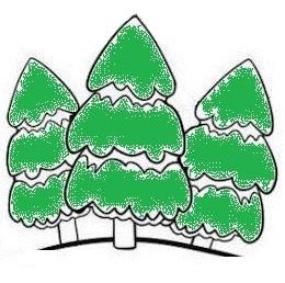 Ёлки зеленые