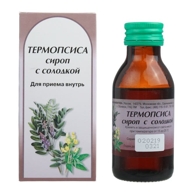 сироп термопсиса